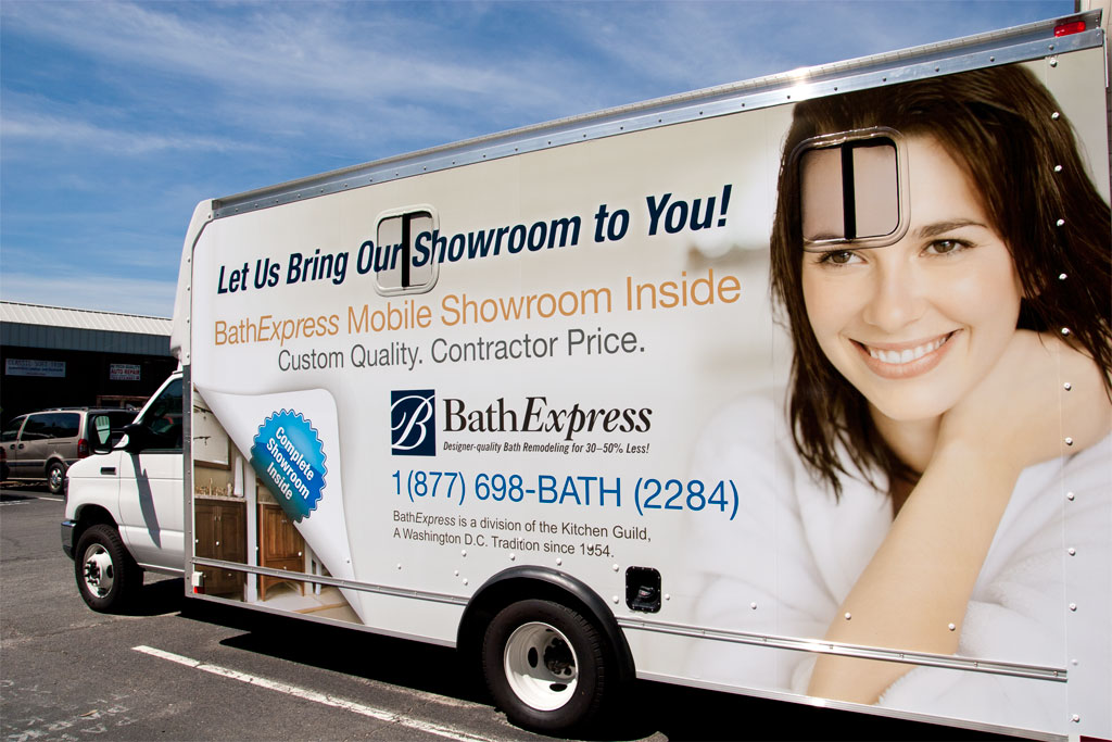 BathExpress mobile showroom